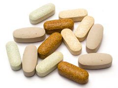 multivitamins - vitamin pills